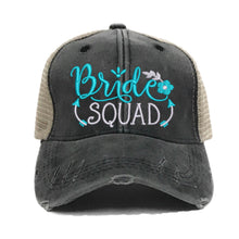 Load image into Gallery viewer, fun-trucker-hats - Bride Squad -