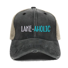 Load image into Gallery viewer, fun-trucker-hats - Lake-Aholic -