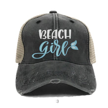 Load image into Gallery viewer, fun-trucker-hats - Beach Girl -