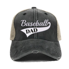 Load image into Gallery viewer, fun-trucker-hats - Baseball Dad -