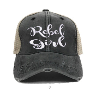 fun-trucker-hats - Rebel Girl -