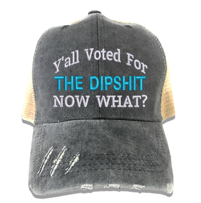 The Dipshit Custom Hat Presidential Election 2020 - Blue