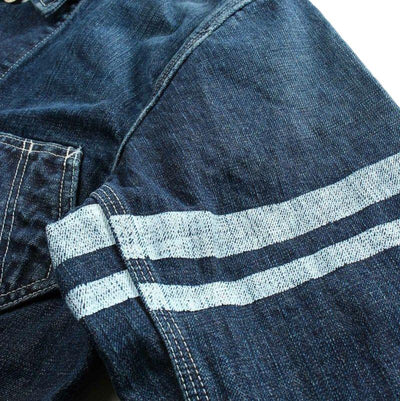 Momotaro Distressed GTB Denim Coverall