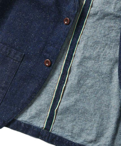 "Japan Blue 12oz. ""Ethical"" Banana Cotton Selvedge Denim Tailored Jacket"