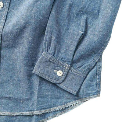 "Japan Blue 6oz. ""Ethical"" Banana Cotton Selvedge Chambray Shirt"
