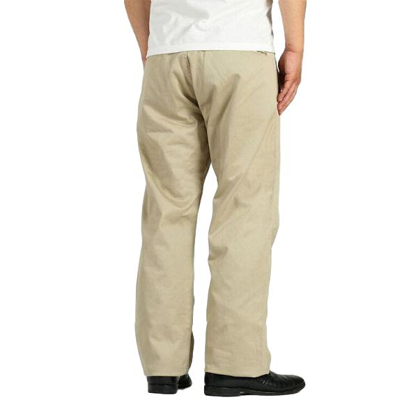 Momotaro High Count West Point Work Pants (Khaki)
