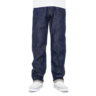 Japan Blue J405 'Circle' Stretch Selvedge Jeans (Regular Straight) - Okayama Denim Jeans - Selvedge