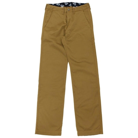 Momotaro High Count West Point Work Pants (Brown)