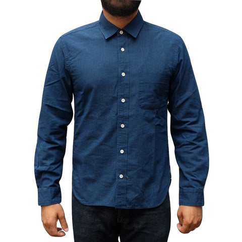 Japan Blue 5oz. Deep Indigo Côte d'Ivoire Chambray Shirt