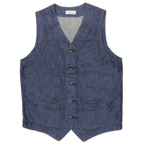 Japan Blue 10.5oz. Denim Urban Vest