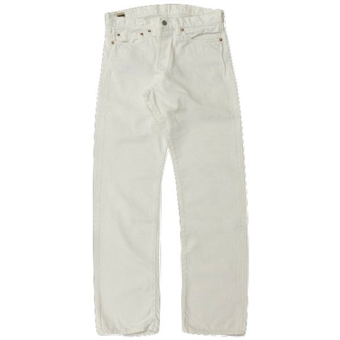 Momotaro W0302SP White Selvedge Denim Jeans (Slim Straight)