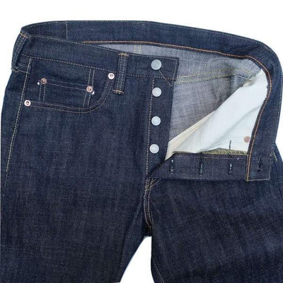 "Fullcount 1109R ""Rough"" Selvedge Jeans (Slim Tapered) - Okayama Denim Jeans - Selvedge"