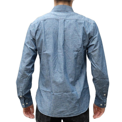 Japan Blue 5oz. Indigo Côte d'Ivoire Chambray Shirt - Okayama Denim Shirt - Selvedge