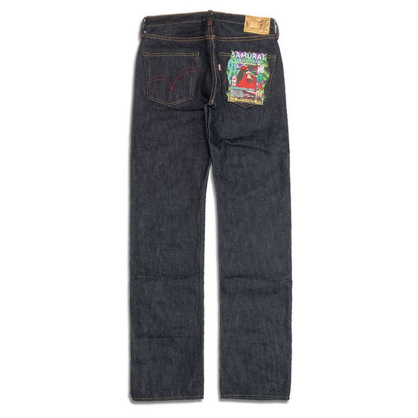 "[Pre-Order] Samurai Jeans S5000XX25oz-20th ""Furinkazan"" 20th Anniversary Selvedge Jeans (Middle Straight)"