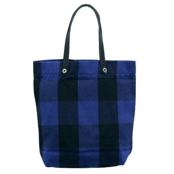 Japan Blue Melton Wool Tote Bag - Okayama Denim Accessories - Selvedge