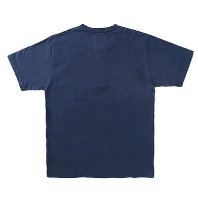 Japan Blue Côte d'Ivoire Cotton Pocket Henley (Navy) - Okayama Denim T-Shirts - Selvedge