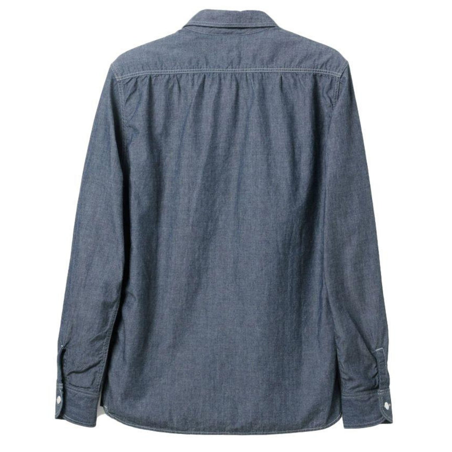 Momotaro Multi-pocket 5oz. Chambray Shirt