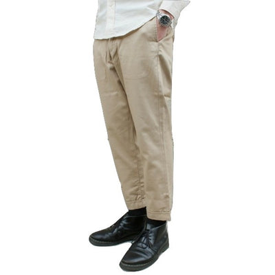 Japan Blue JB4300 Liberty Pegtop Classic Chino Pants (Beige) - Okayama Denim Pants - Selvedge