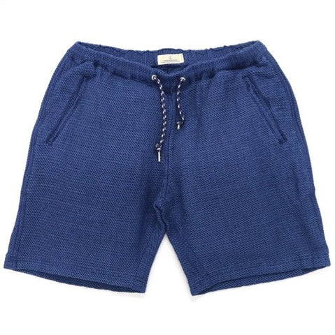 Japan Blue Indigo Waffle Easy Shorts