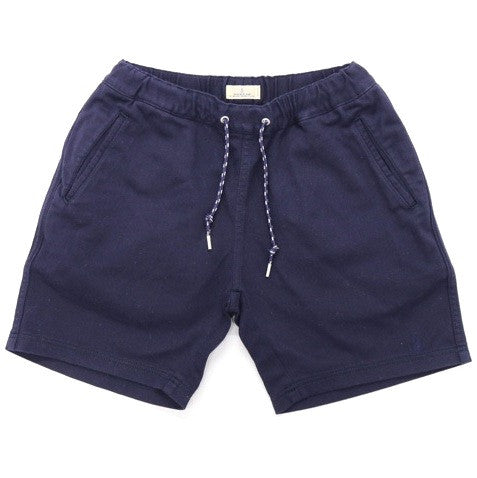 Japan Blue Tate Knit Easy Shorts (Navy)
