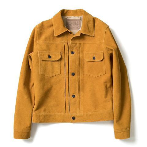 Studio D'Artisan Suede 2nd Type Jacket (Tan)