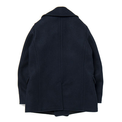 Studio D'Artisan Melton Wool USN Peacoat (Navy)