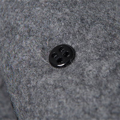 Studio D'Artisan Melton Wool USN Peacoat (Gray)