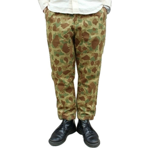 Japan Blue JB4300 Liberty Pegtop Classic Chino Pants (Hunter Camo)