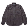 Studio D'Artisan Black Wabash Work Shirt
