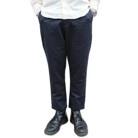 Japan Blue JB4300 Liberty Pegtop Classic Chino Pants (Navy)