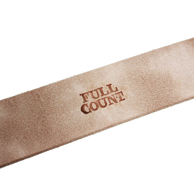 Fullcount 6211 Leather Belt - Okayama Denim Accessories - Selvedge