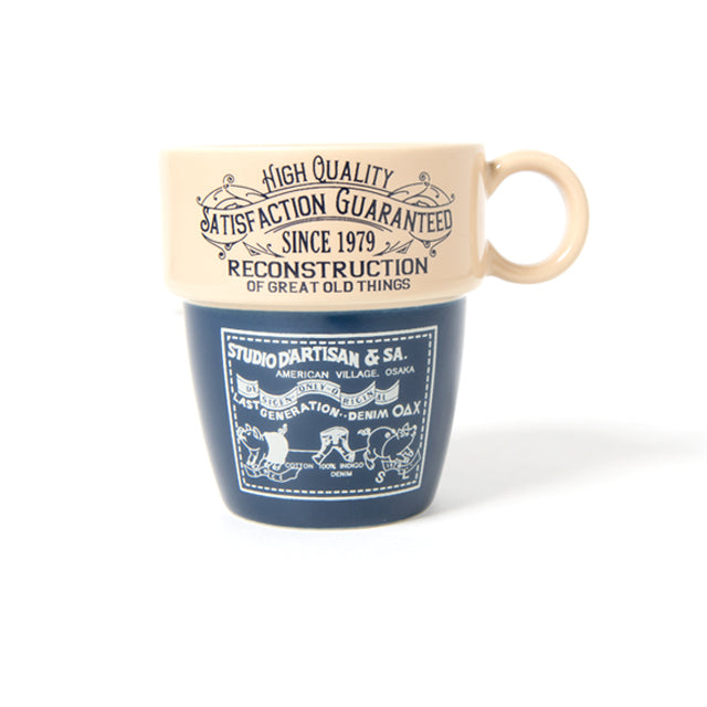 Studio D'Artisan 40th Anniversary Mug - Okayama Denim Accessories - Selvedge