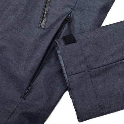 Japan Blue Dougu 'Plain' All-Weather Denim Field Coat - Okayama Denim Jacket - Selvedge