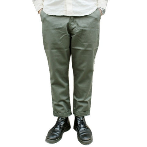 Japan Blue JB4300 Liberty Pegtop Classic Chino Pants (Olive)