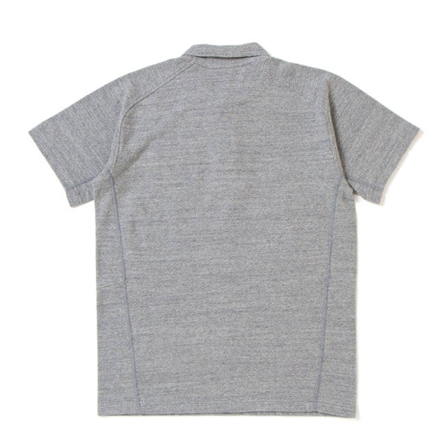 [Pre-Order] Studio D'Artisan Loopwheel Polo Shirt (Heather Gray)