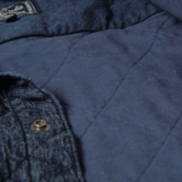 Studio D'Artisan 5634 Quilted Denim Work Shirt