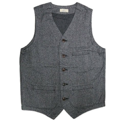 Japan Blue 10oz. Twisted Heather Twill Urban Vest
