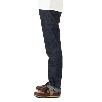 Japan Blue J411 'Circle' 8oz. Côte d'lvoire Selvedge Jeans (Regular Straight)