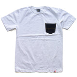 Studio D'Artisan 9856B Selvedge Denim Pocket Tee
