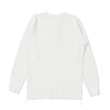 Studio D'Artisan L/S Heavy Thermal Henley (White)