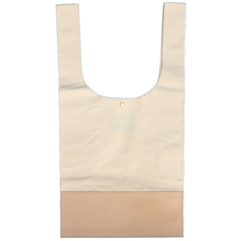 Anachronorm Tote Bag (Natural Leather)