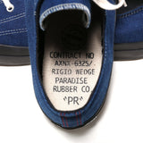 Anachronorm Indigo Dyed Vulcanized Sneakers