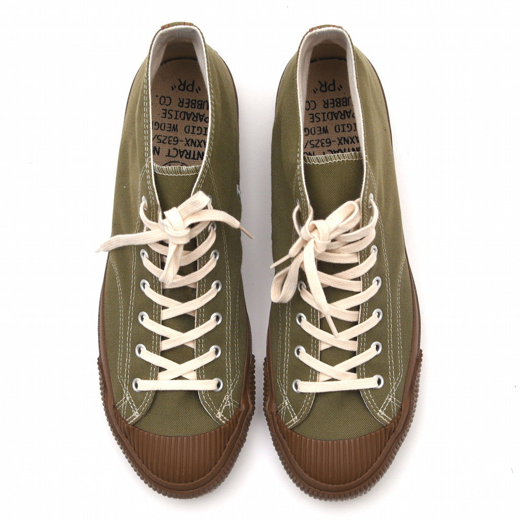 Anachronorm Olive Mid Vulcanized Sneakers