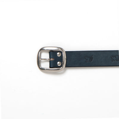 Studio D'Artisan B-82-IND Indigo Dyed Leather Belt