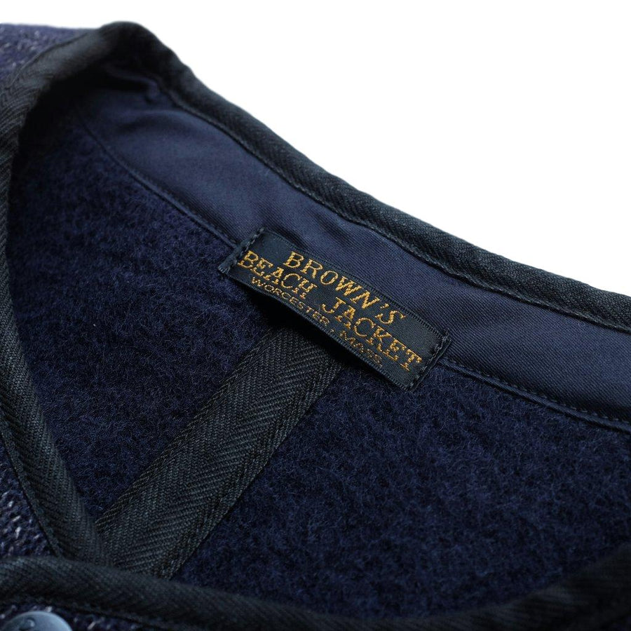 Brown's Beach Early Vest (Navy)