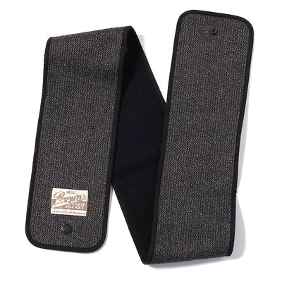Brown's Beach Muffler (Navy Blue) - Okayama Denim Accessories - Selvedge