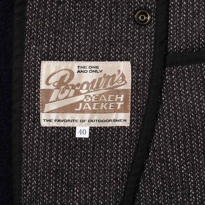 Brown's Beach Tailored Jacket (Navy) - Okayama Denim Jacket - Selvedge