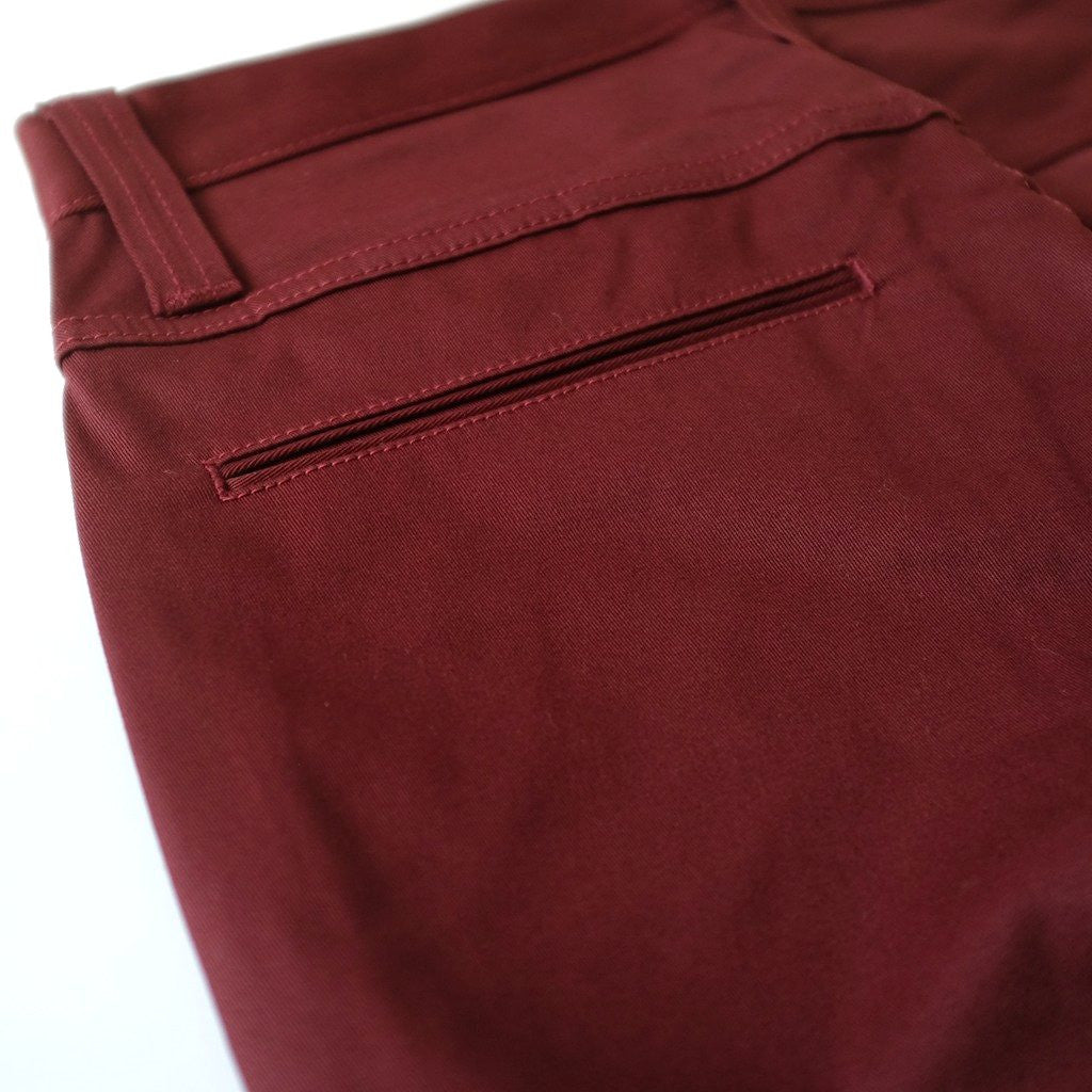 Big John Chino Pants (Slim Tapered) - Okayama Denim Pants - Selvedge