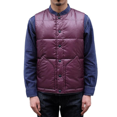 Burgus Plus x Zanter Inner Down Vest - Okayama Denim Jacket - Selvedge