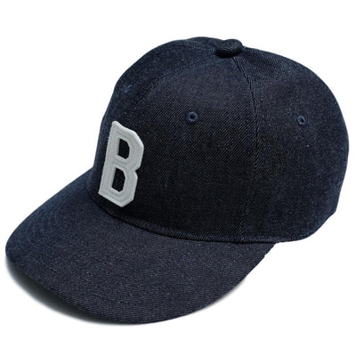 Big John Denim Baseball Cap - Okayama Denim Accessories - Selvedge